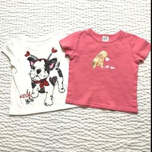 Other - Bundle Of 2 Puppy Tees